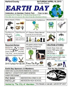 Earth Day Celebration at Festival Park in Aberdeen – April 18