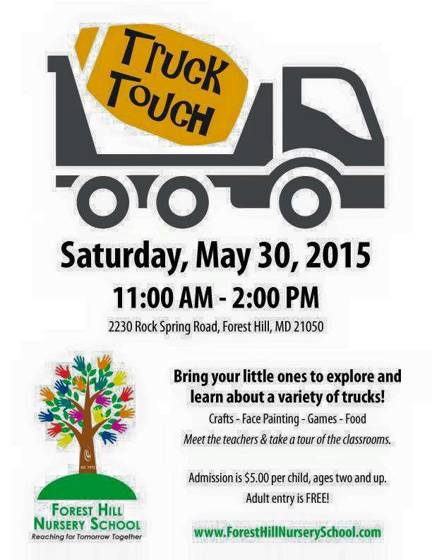 Event - May 30 - Touch a Truck