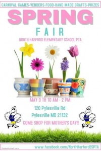{FREE} North Harford Elementary School Spring Fair – May 9