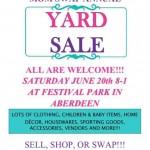 Aberdeen/Havre de Grace Mom Swap Annual Yard Sale – {June 20}