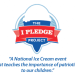 FREE ICE CREAM when your child recites The Pledge!