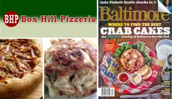 Crab Cakes Maryland Pizza