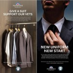 Farmers Insurance will be collecting suits for our Vets starting November 11th!