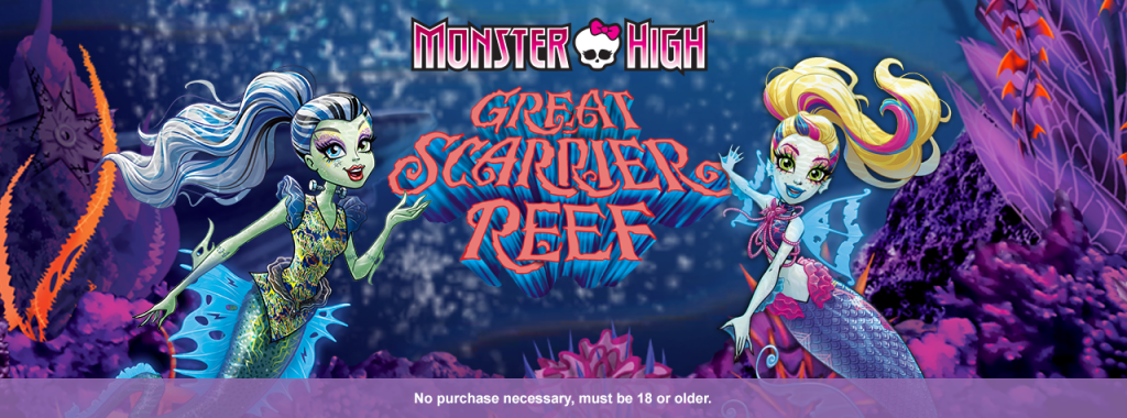 Win A Blu Ray Copy Of Monster High Great Scarrier Reef