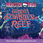 Win a blu-ray copy of Monster High: Great Scarrier Reef!