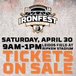 IronFest at Leidos Field at Ripken Stadium – April 30 {FREE EVENT}
