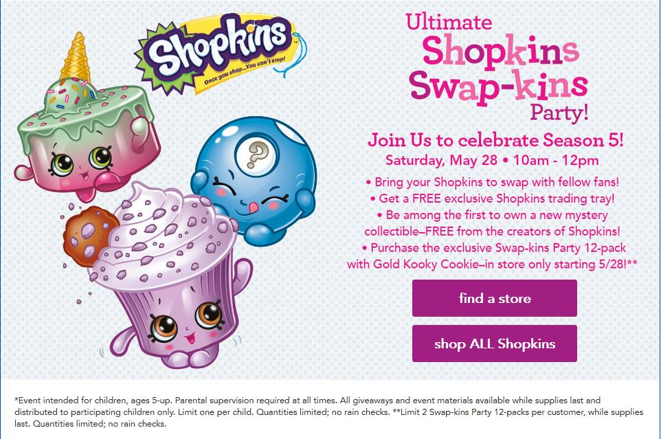 Event - 05.28.16 - Shopkins Swap