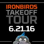 Meet IronBirds Mascots Ferrous and Ripcord All Around Harford County Today!