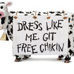 FREE Chick-Fil-A When You Dress Like a Cow on July 12