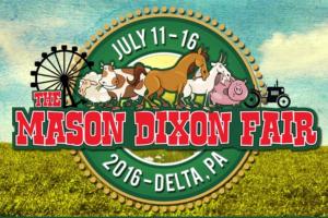 The Mason Dixon Fair: July 11-16 Delta, PA