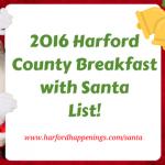 2016 Harford County Breakfast with Santa List!