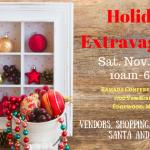 Holiday Extravaganza at the Ramada Conference Center in Edgewood – Santa, Shopping, & Food – November 26