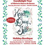 Celebrate the Holidays with a Candlelight Tour of Historic Havre de Grace – December 10
