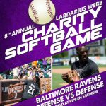 8th Annual Lardarius Webb Celebrity Softball Game at Ripken Stadium – June 11