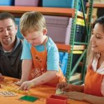 Home Depot Kids Workshop: Build a Tic Tac Toe Game