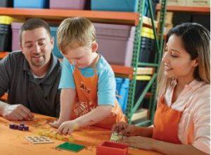 Home Depot Kids Workshop: Build a Tic Tac Toe Game