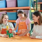 Home Depot Kids Workshop: Build a Flower Pot