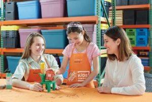 Home Depot Kids Workshop: Build a Flower Pot