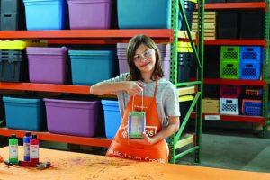 Home Depot Kids Workshop: Build a Bug House