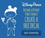 Get a FREE Customized Disney Family Figure Decal!
