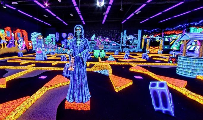 monster mini golf towson
