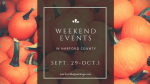 Weekend Events in Harford County | September 29 – October 1