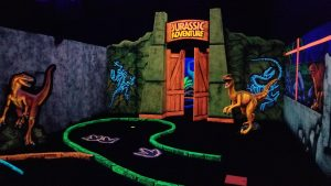NEW Jurassic Golf & Arcade opens in Bel Air!