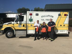 Humane Society of Harford County Donates Ten Pet Oxygen Masks to First Responders