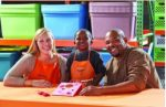 Home Depot Kids Workshop: Build a Valentine Bean Bag Toss