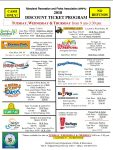 2018 Discount Amusement Park Tickets from Harford County Parks & Rec!