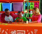 FREE Home Depot Kids Workshop: Build Bookworm Bookends