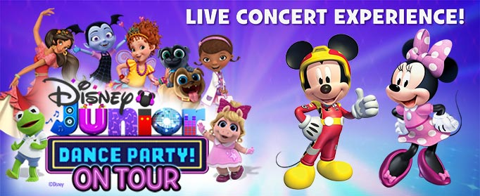 """""""Disney Junior Dance Party On Tour"""" Heads to The Modell Lyric – Win Tickets!"""