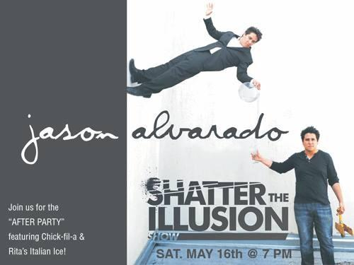 {FREE} – Shatter the Illusion Show with Jason Alvarado in Bel Air – May 16