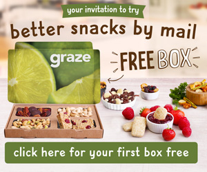 {FREE} Get your first Graze box for free!