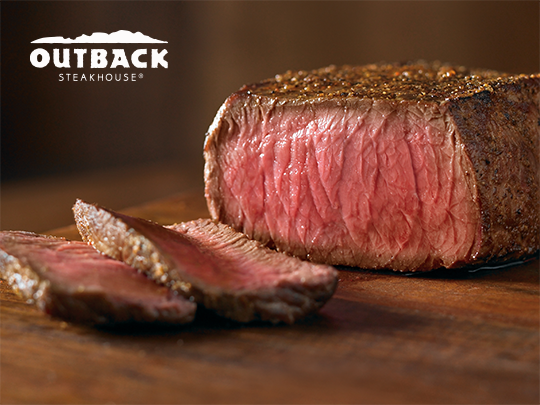 15% off entire check at Outback Steakhouse – {Bel Air}