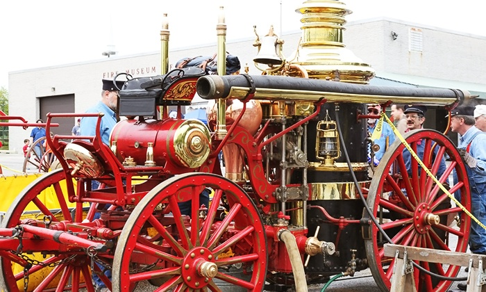 Admission to Fire Museum of Maryland for Two Adults and One Child only $18! – {Lutherville}