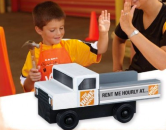 {FREE} Register NOW for Home Depot Kids Workshop and Build a Load 'n Go Truck – June 6