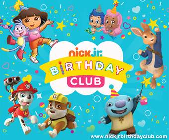 {FREE} Receive a free birthday call from your child's favorite Nick Jr. character on their birthday!