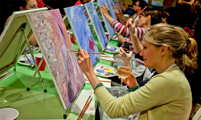 Up to 44% Off Two-Hour Social Painting Event from Paint Nite {Harford County}