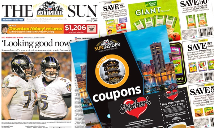 $10 for a One-Year Weekend Subscription to The Baltimore Sun