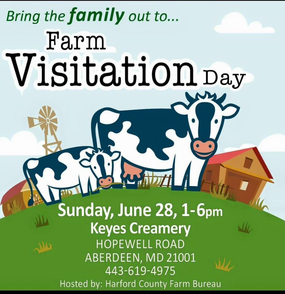 {FREE} Farm Visitation Day at Keyes Creamery in Aberdeen – June 28