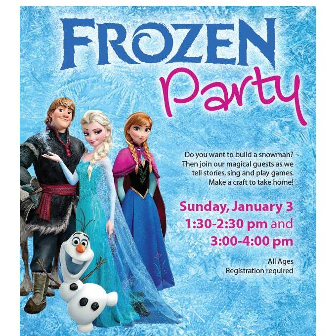 {FREE} Frozen Party at the Abingdon Library – January 3