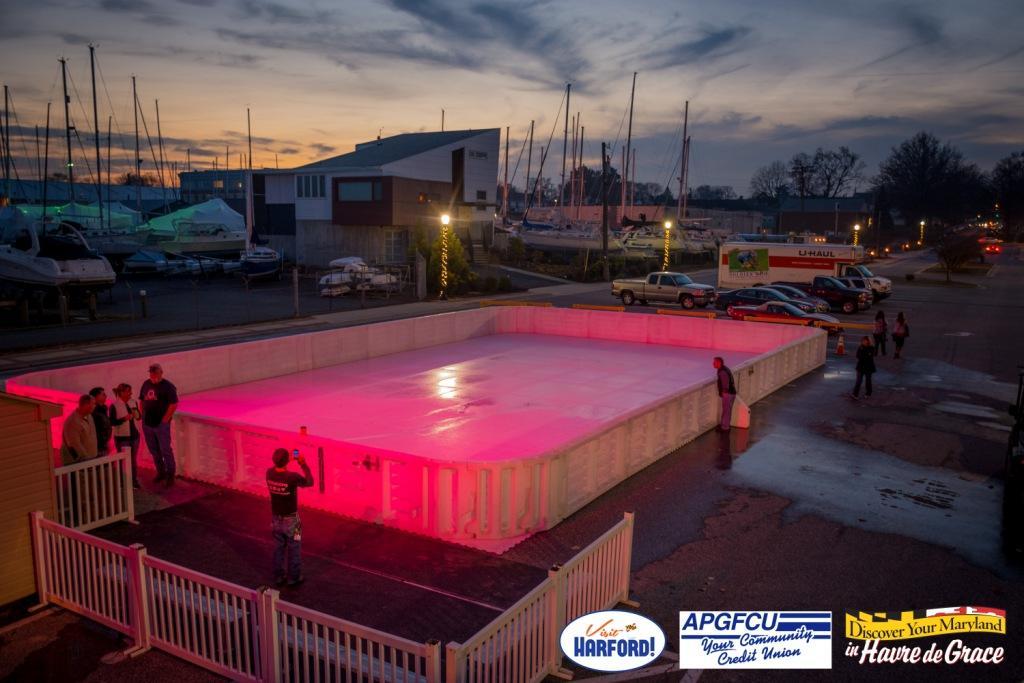 Ice Skating Rink to open in Havre de Grace on Dec. 18!