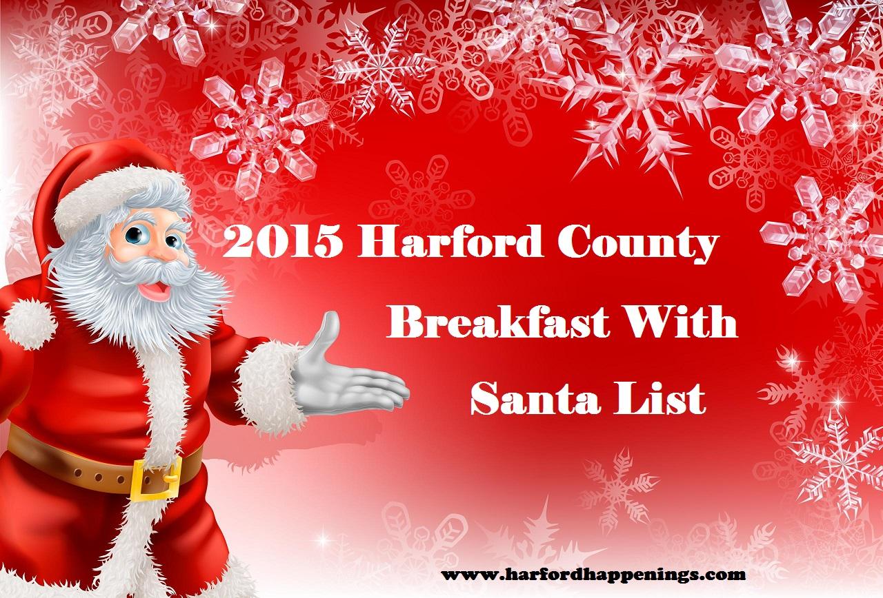 2015 Harford County Breakfast with Santa List!
