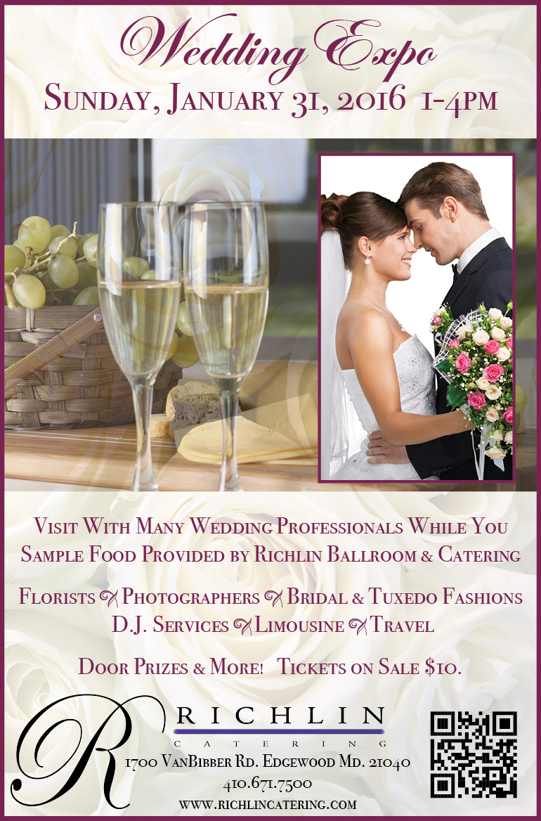 Wedding Expo at Richlin Ballroom – January 31