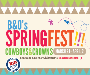Enter to Win a 4 Pack of Tickets to Springfest at the B&O Museum! {Contest Ended}