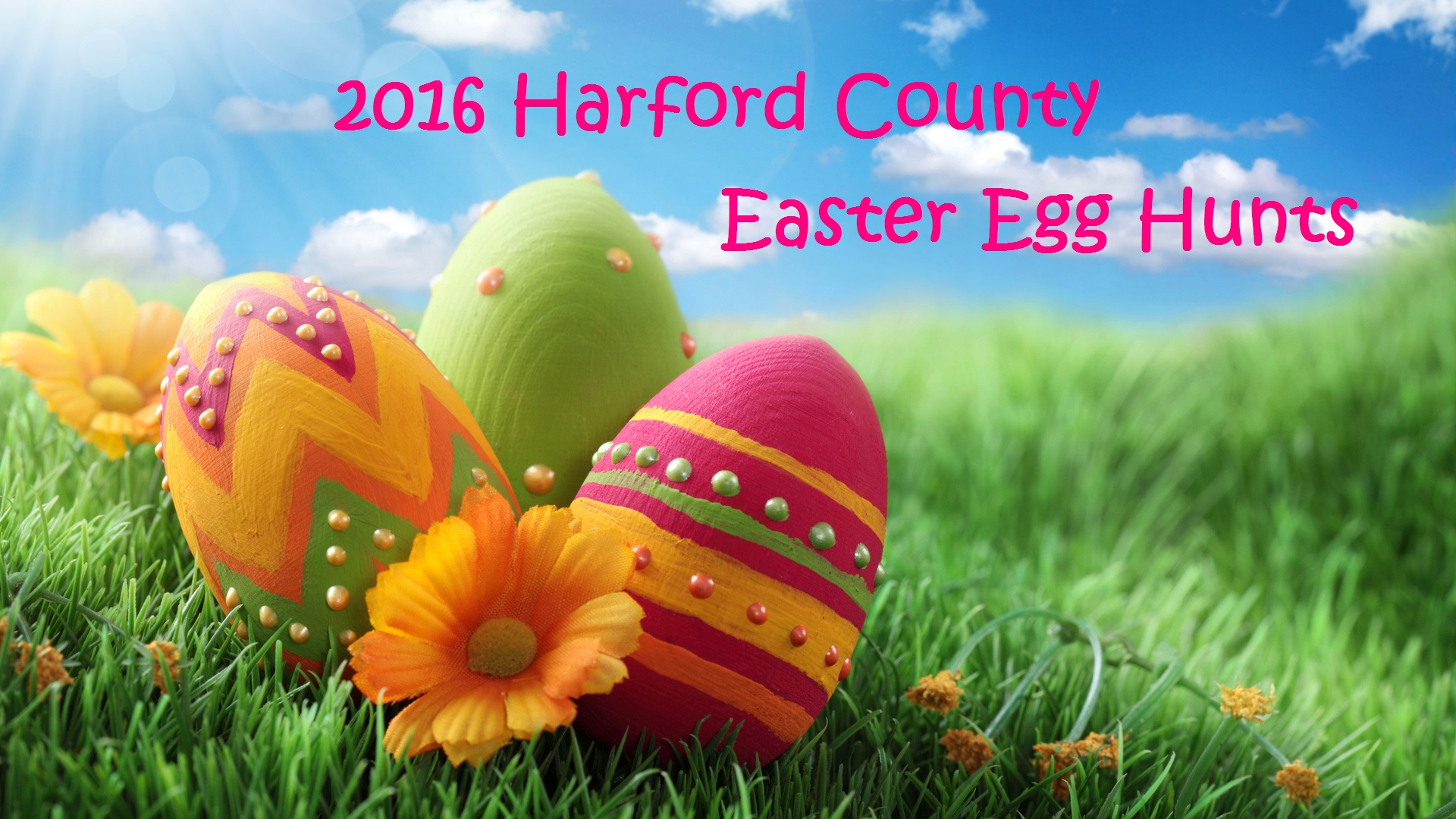 2016 Harford County Easter Egg Hunts