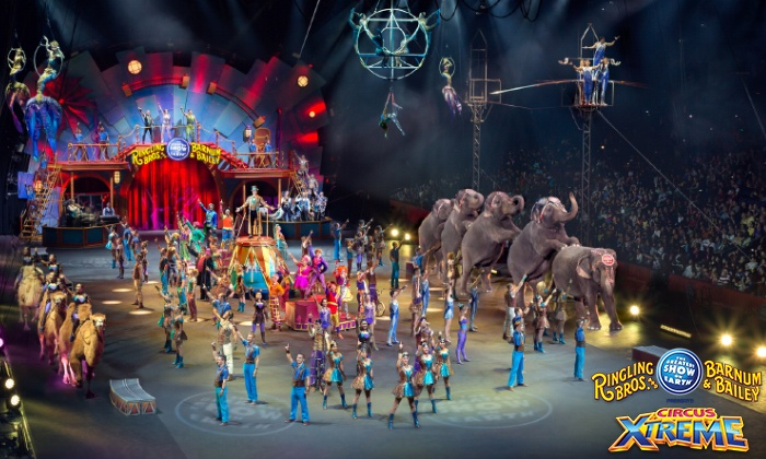 Discount Tickets Available for Ringling Brothers and Barnum & Bailey Circus XTREME – Royal Farms Arena {March 16-27}