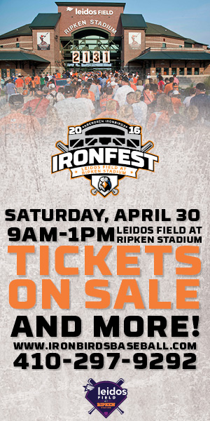 IronFest at Leidos Field at Ripken Stadium – April 30 {FREE EVENT}