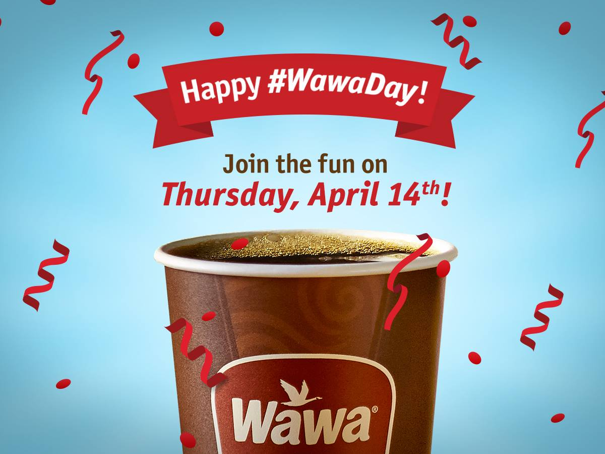 FREE Coffee at Wawa Tomorrow – April 14